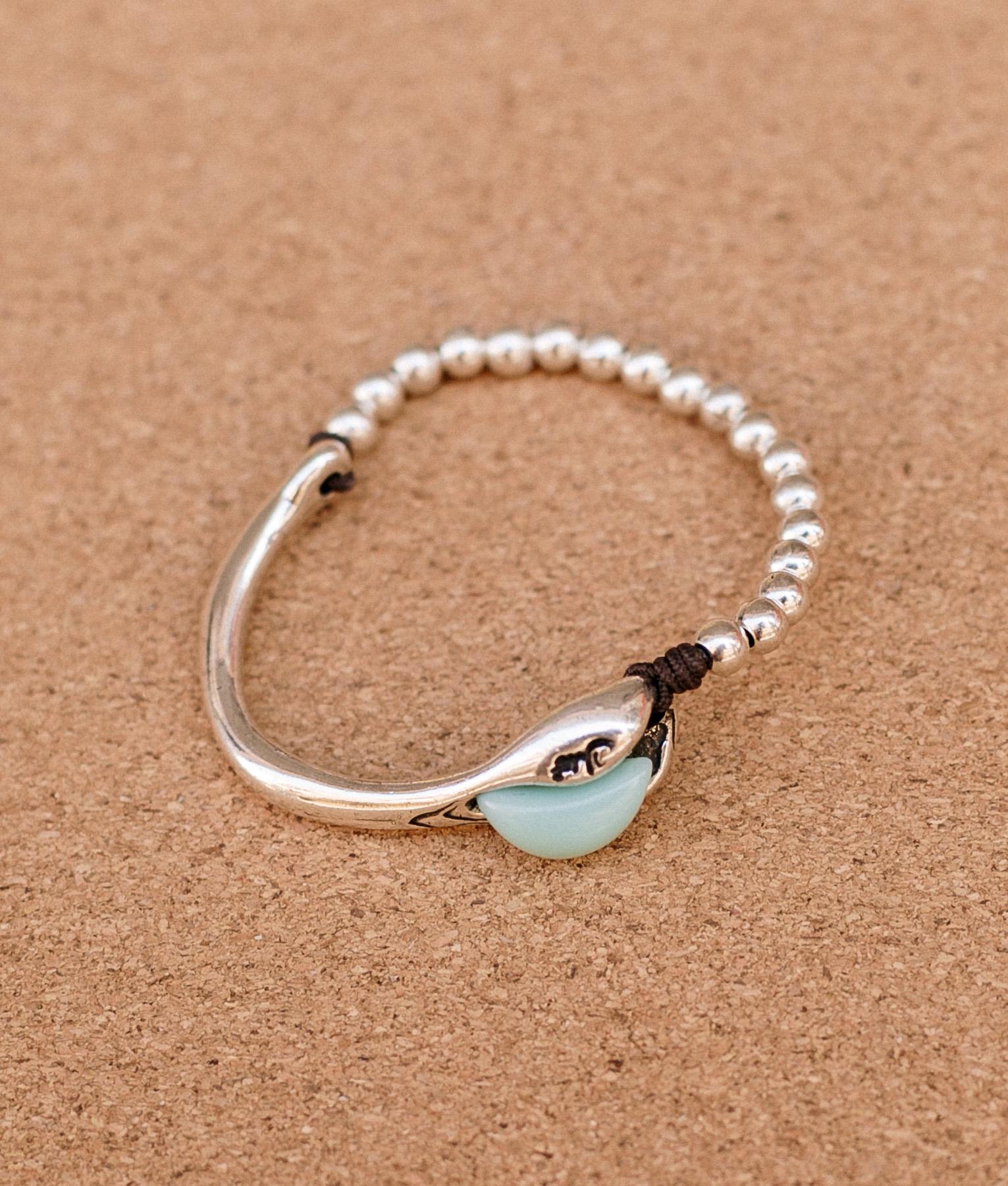 Bracelet Baobab - Aquamarine