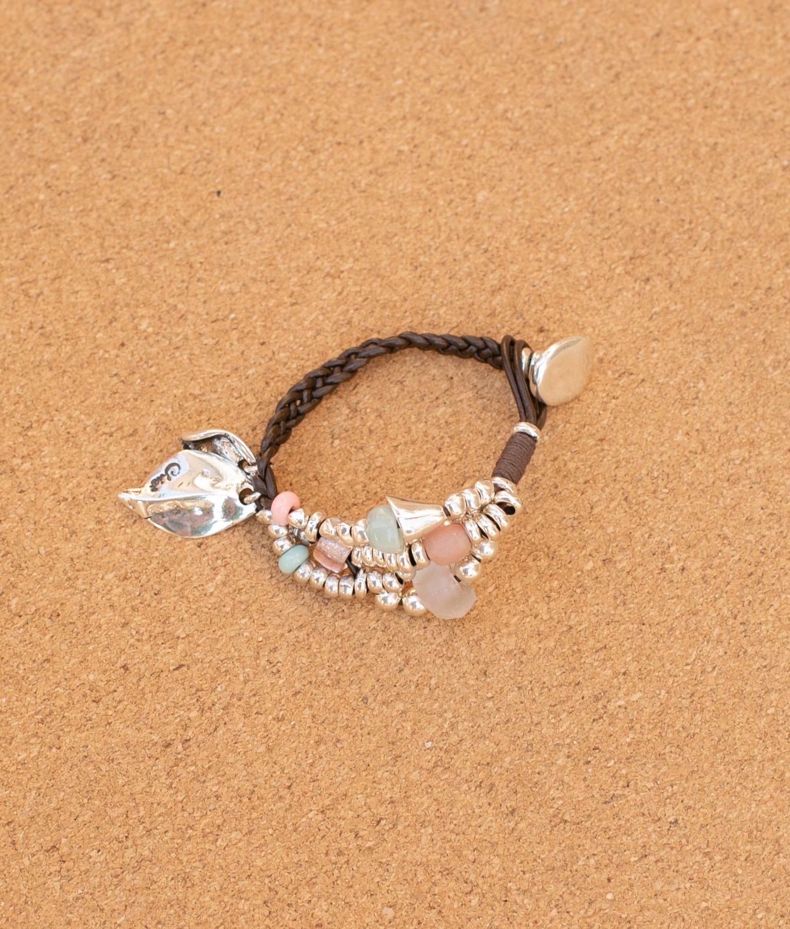 Bracelet Hojarasca - Multicolore