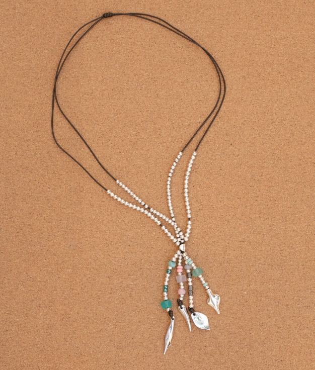 Colar Hojarasca - Multicolorido