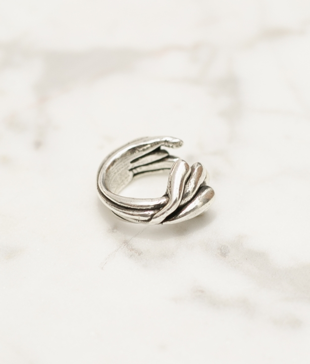 Anillo Brotes - Argent