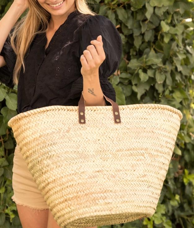 Wicker Basket Teran - Beige