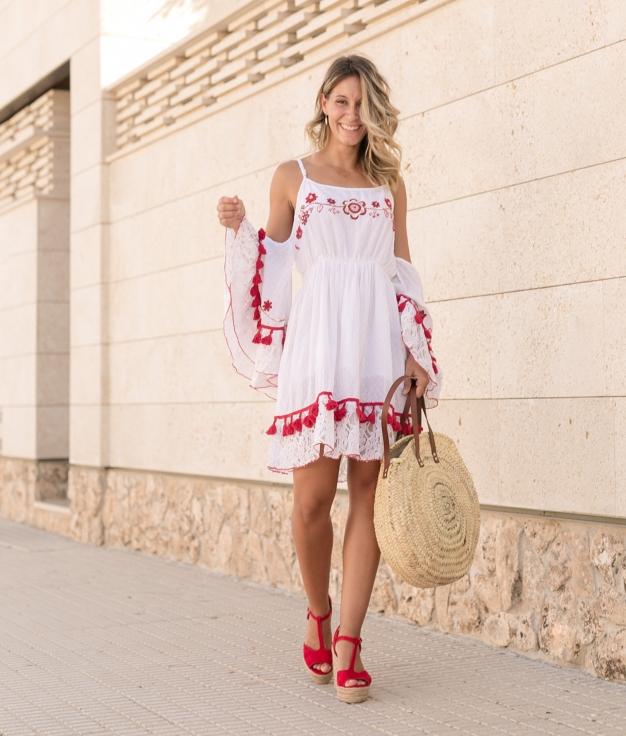 Vestido Somar - Branco