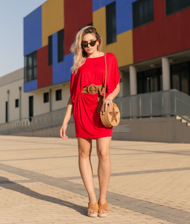 Vestido Fabro - Rojo