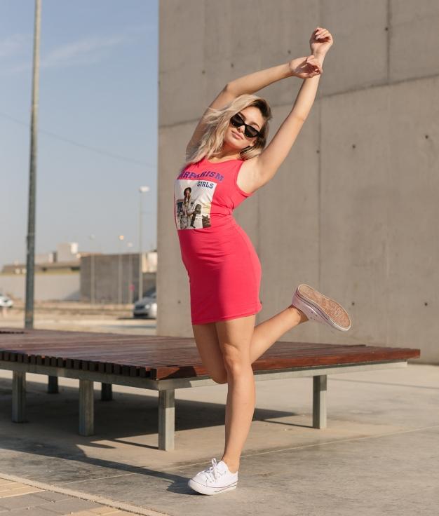 Dress Kenter - Red