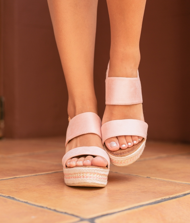 High Sandal Nenti - Pink
