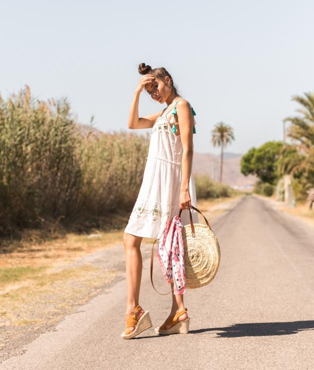 Vestido Miduk - Turquesa