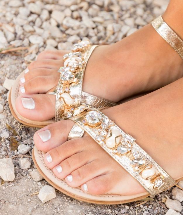 Sandal Loni - Gold