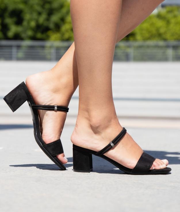 Sandalia de Tacón Seper - Negro