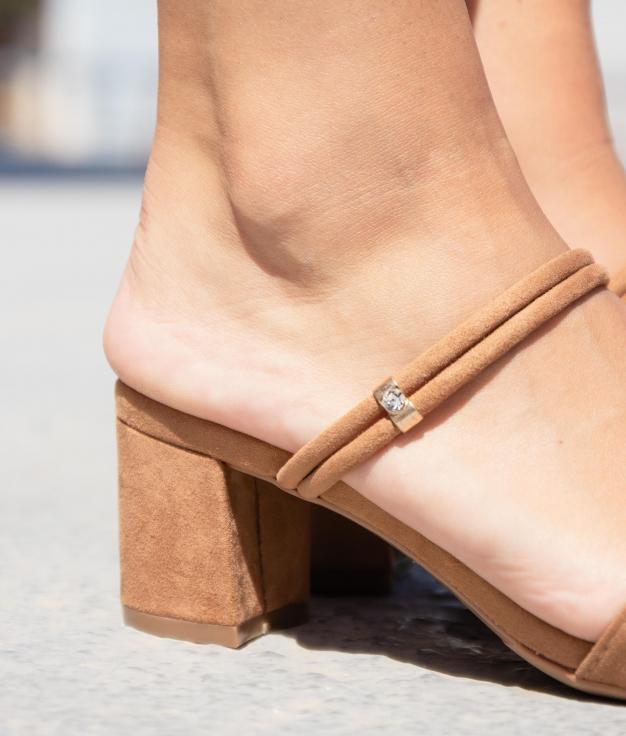 High Sandal Seper - Camel