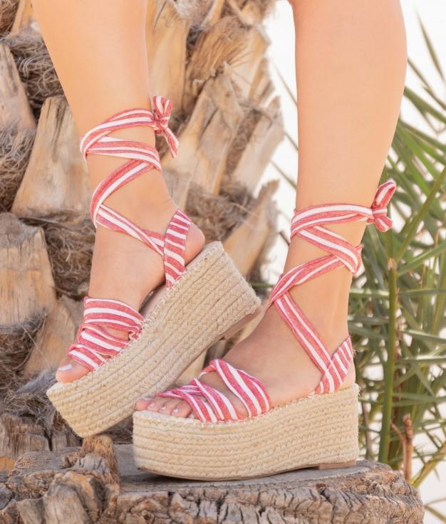 Sandalo Decice - Rosso