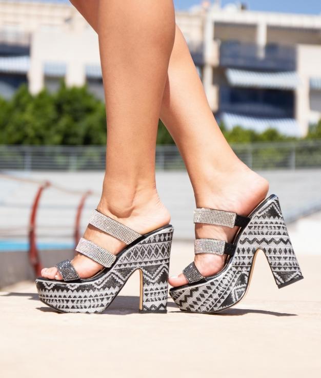 High Sandal Devet - Black