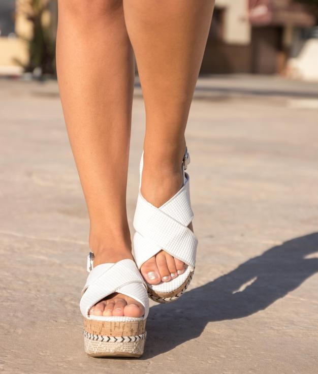 Sandal Glop - White
