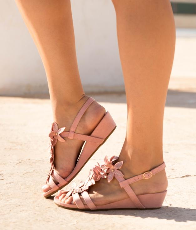 Sandale Tenat - Rose