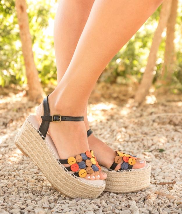 Sandale Wenet - Noir