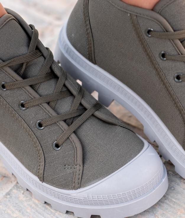 Sneakers Mapos - Kaki