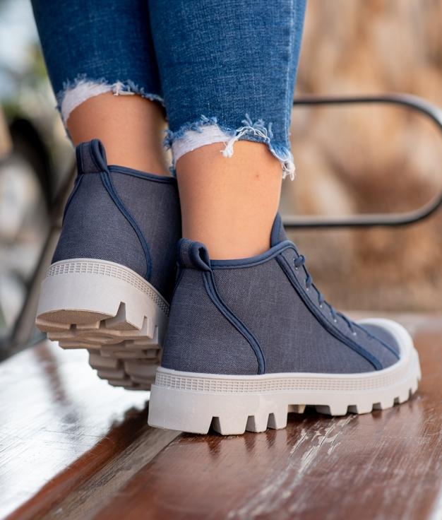 Sneakers Mapos - Bleu Marino