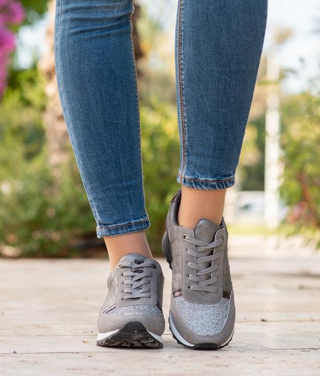 Sneakers Zene - Cinza