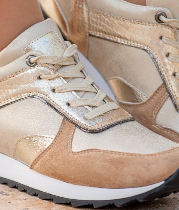 Sneakers Niwen - Or