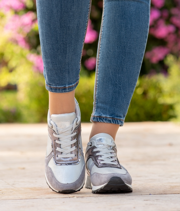 Sneakers Niwen - Argent