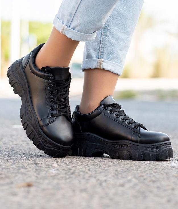 Sneakers Juten - Noir