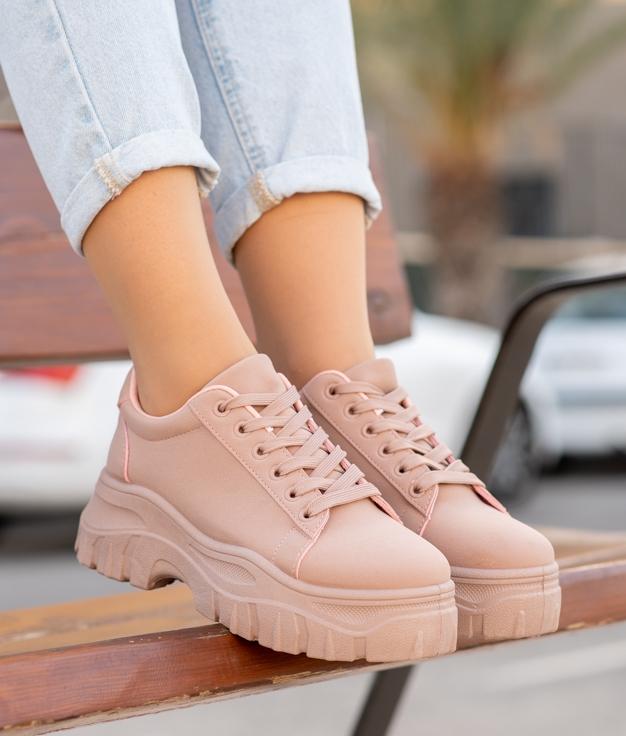 Sneakers Juten - Rose