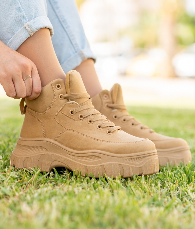 Sneakers Lodas - Chameau