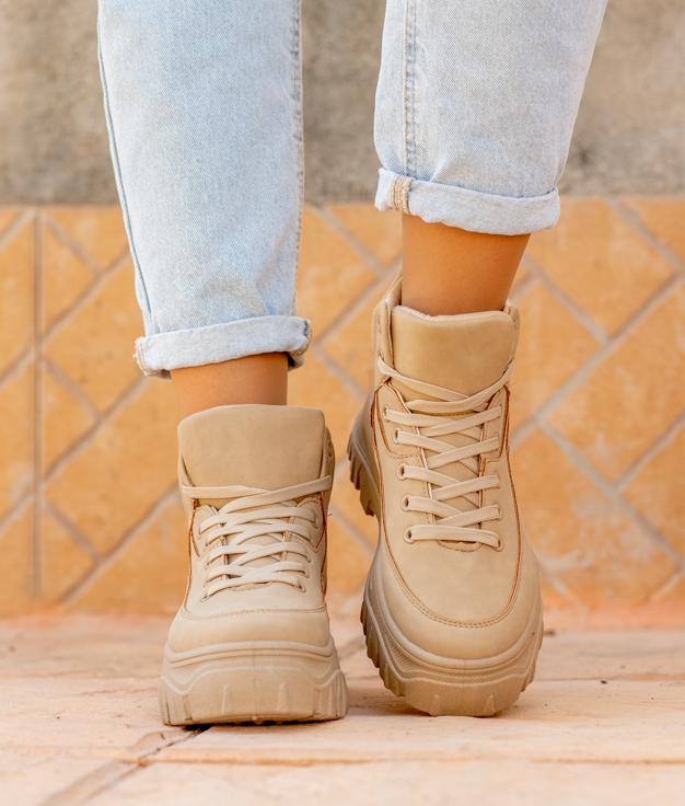 Sneakers Lodas - Bege