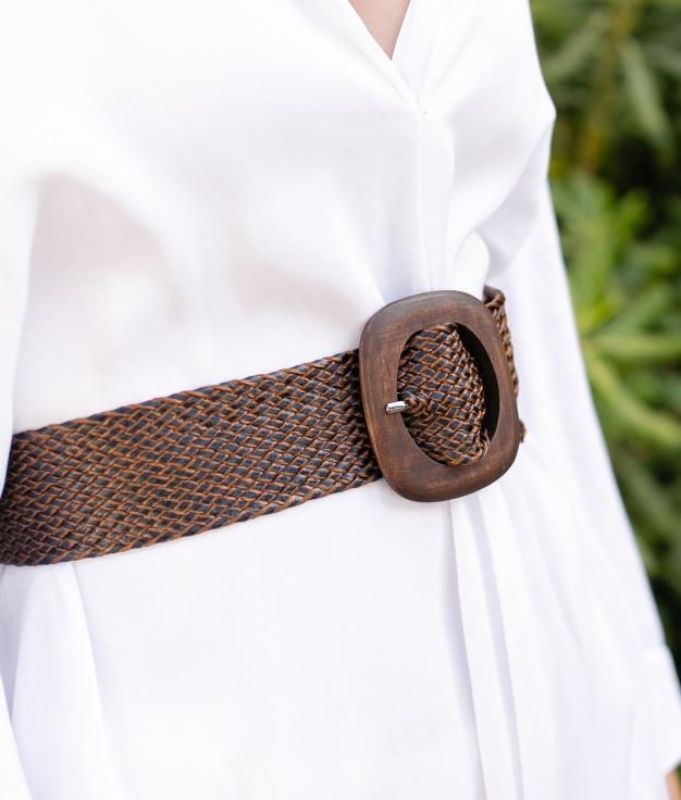 Cinturón Zulu - Marrón