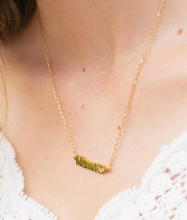 Necklace Mamá - Gold