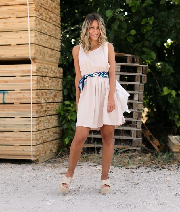 Vestido Chipre - Rosa