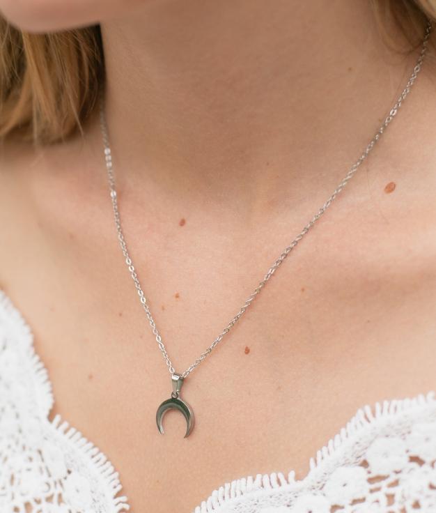 Necklace Luna - Silver