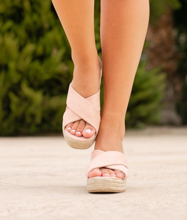 Sandália de Salto Oracu - Rosa