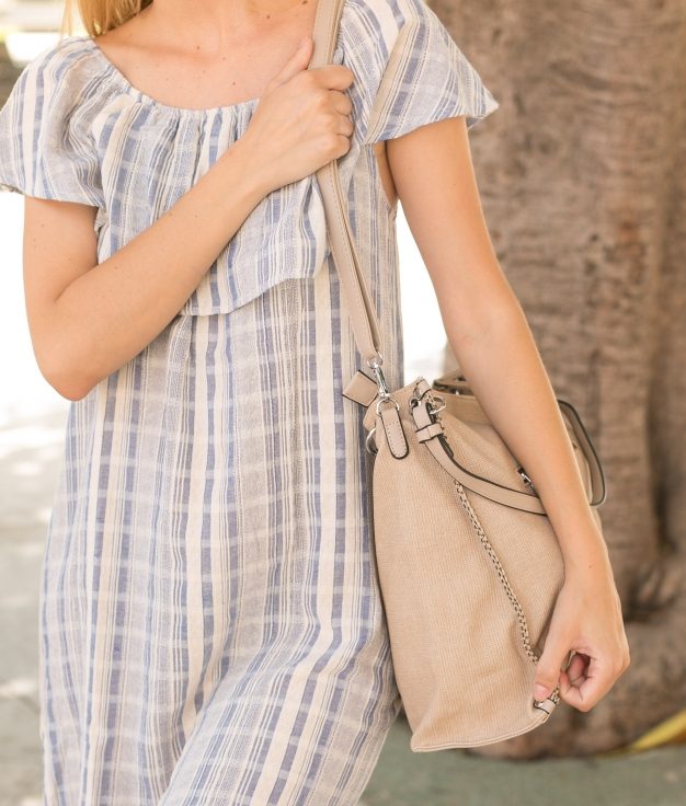 Bolso Ture - Bege