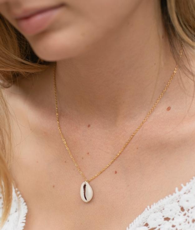 Necklace Pechina - Gold
