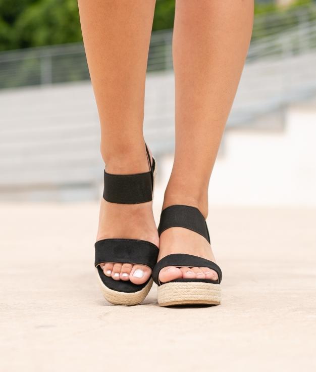 Sandalo Alto Aspi - Nero