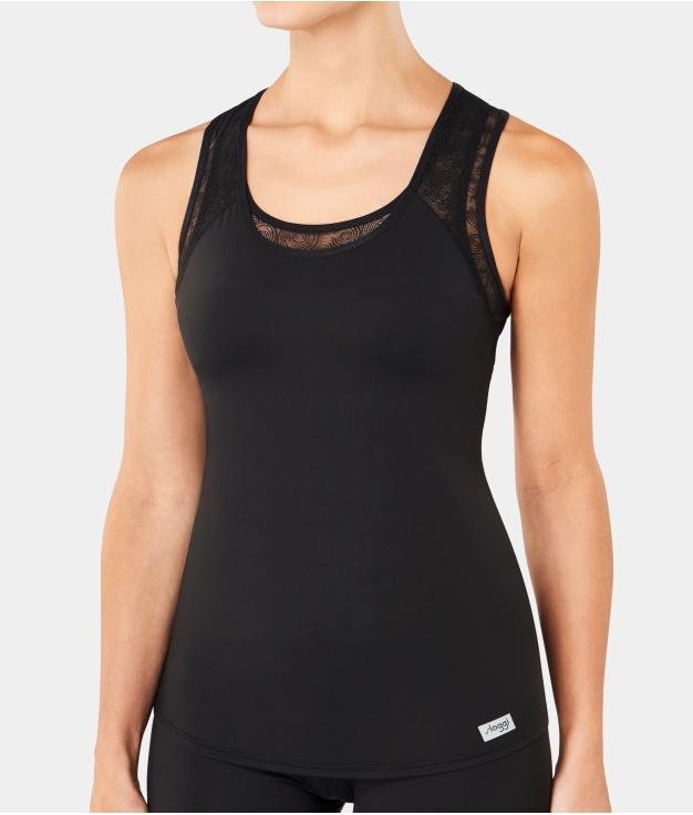 Camiseta Sareth - Negro