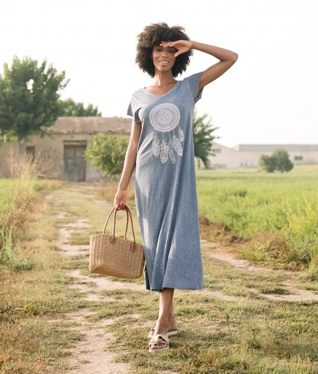 Dress Domus - Blue