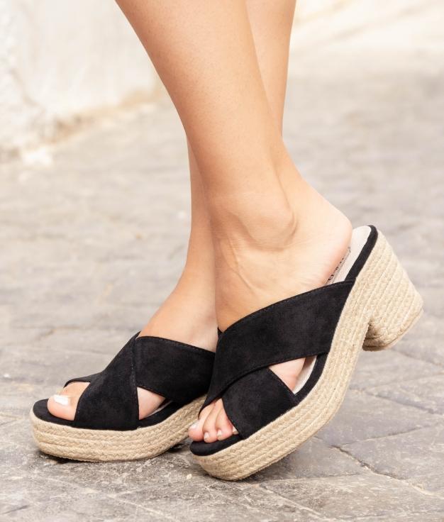 Sandália de Salto Pret - Preto