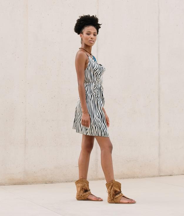 Vestido Bernis - Cebra