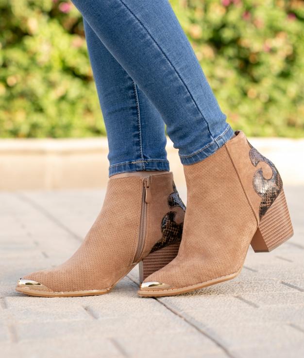 Low Boot Nolit - Khaki