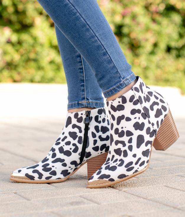 Low Boot Nolit - Cow
