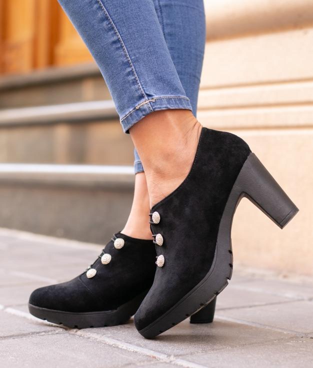 Zapato de Tacón Moulin - Negro