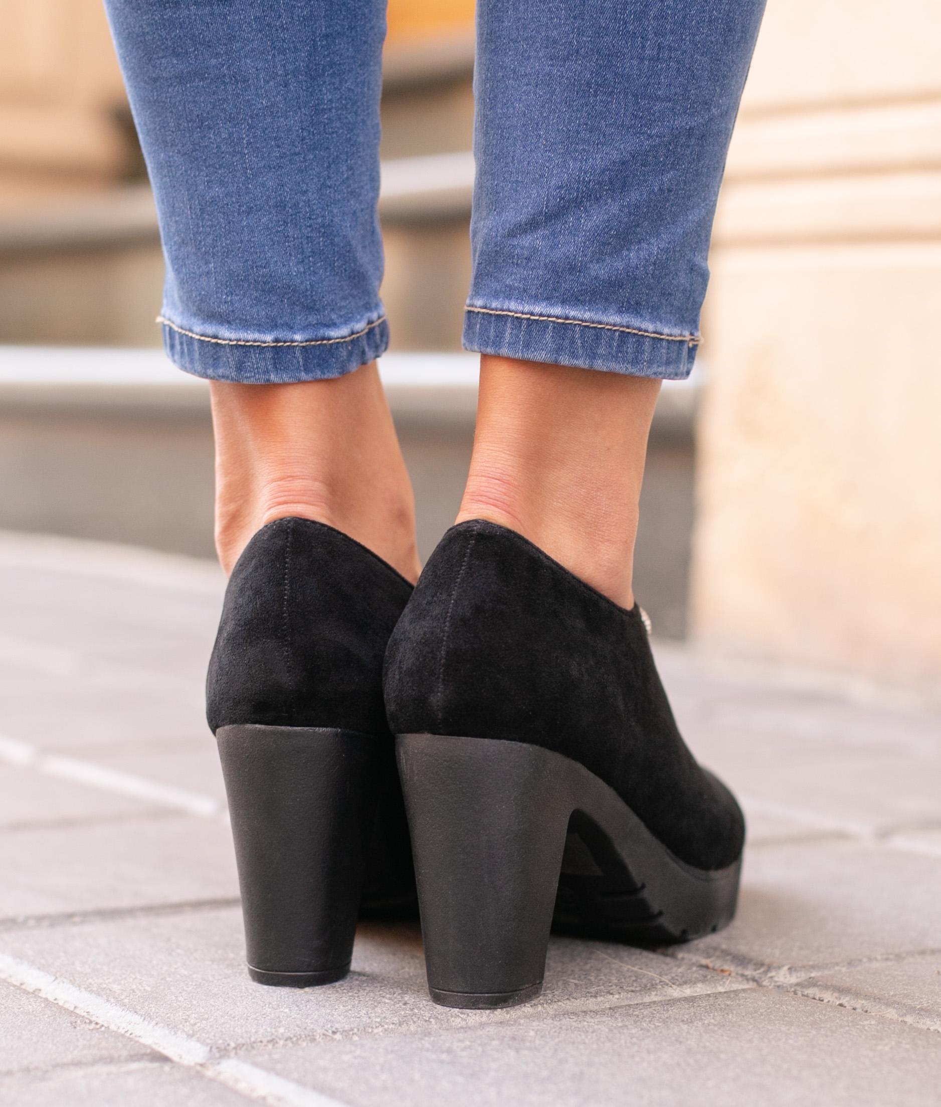 Sapato de Salto Moulin - Preto
