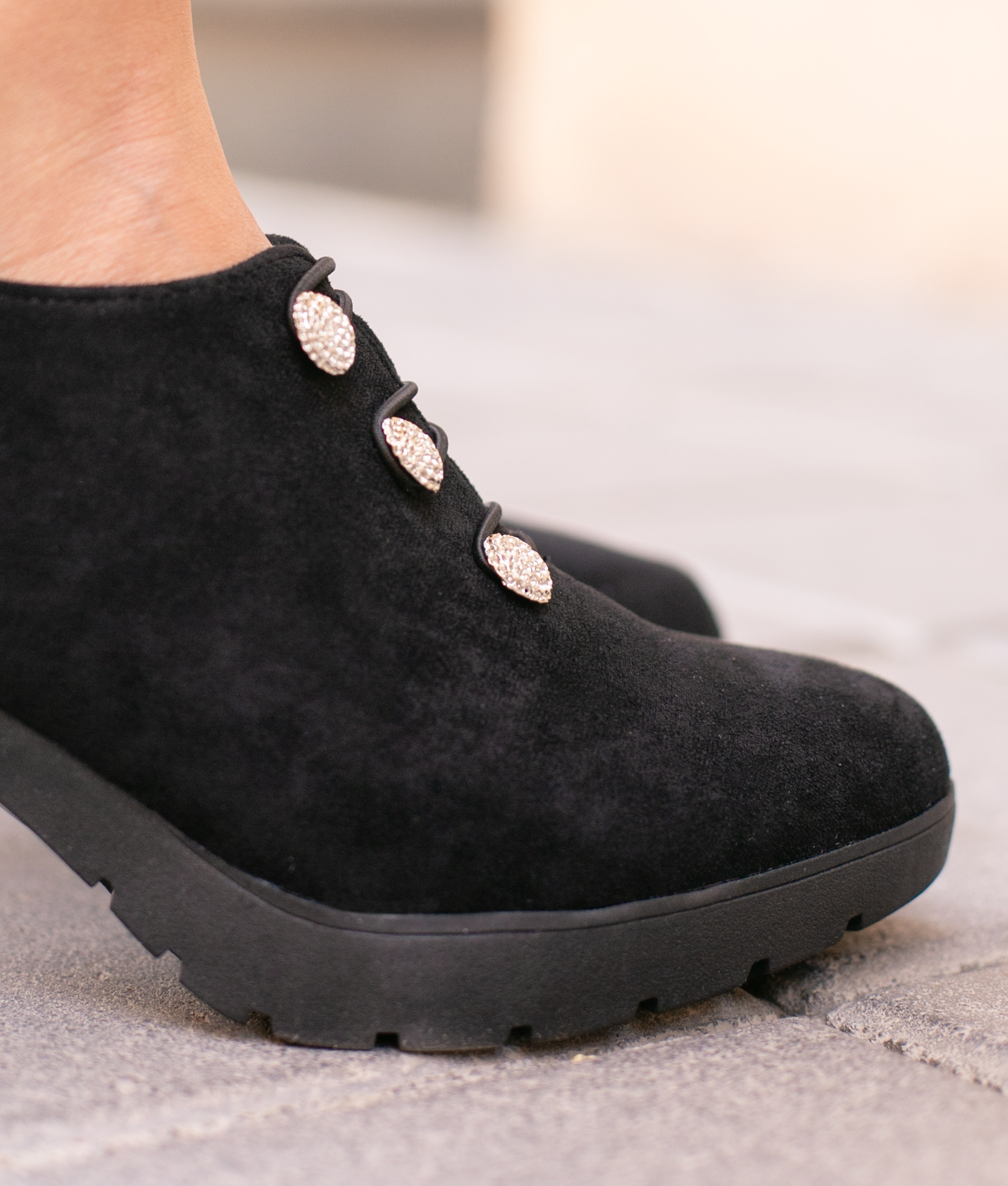 High Heel Moulin - Black