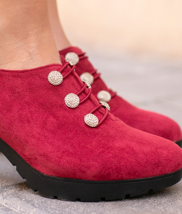 Sapato de Salto Moulin - Grená