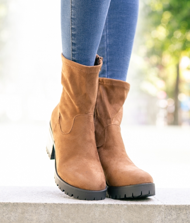 Low Boot Aries - Camel