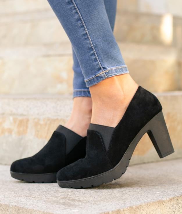 Zapato de Tacón Belcis - Negro