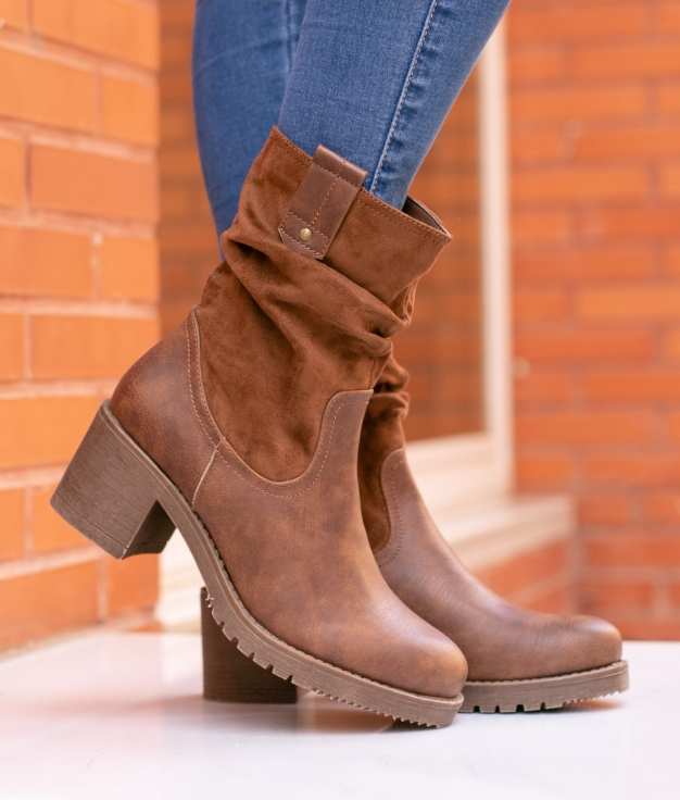 Low Boot Eliseo - Camel