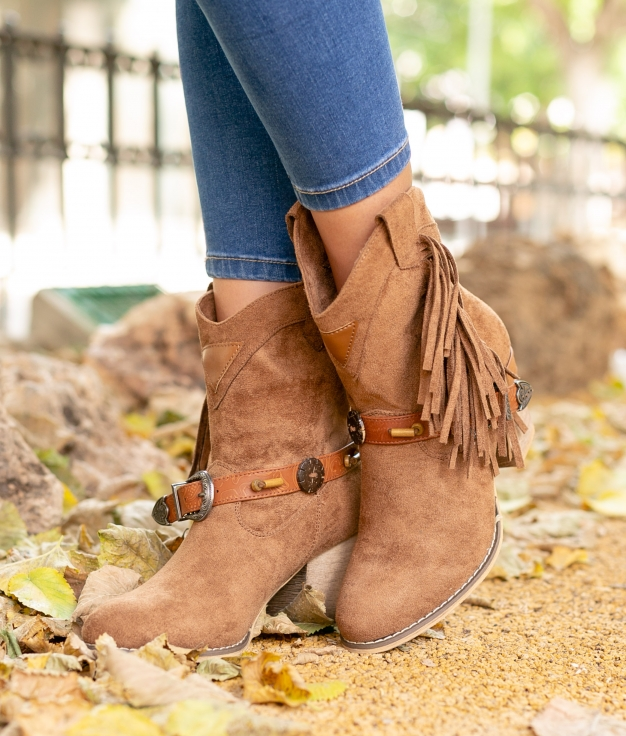 Low Boot Furon - Camel