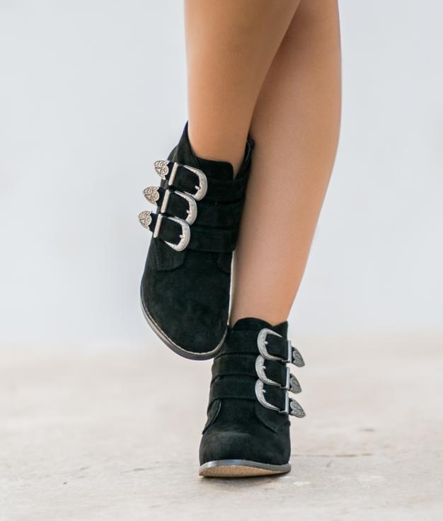 Boot Iraida - Noir